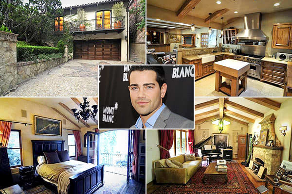 "Location: Beverly Hills, Calif.Price: $2.2 millionBedrooms: 3Bathrooms: 3Square Footage:  2,000This 33-year-old dark and handsome hunk made his name on the soap ""Passions,"" then went on to become the lawn-grooming extramarital lover of Eva Longoria's character on ""Desperate Housewives.""Metcalfe's Mediterranean-style house, built in 1999, is no longer on the market, but it made two appearances on the market last year for the $2.2 million thatMetcalfe bought it for in 2008, according to the ."