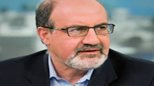 Nassim Taleb, New York University professor and author of 'The Black Swan: The Impact of the Highly Improbable.'