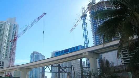Miami Construction Cranes