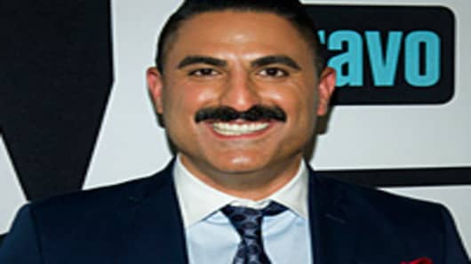 Reza Farahan, participant in the reality tv show 'Shahs of Sunset' on Bravo.