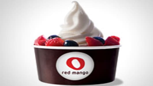 Red Mango yogurt