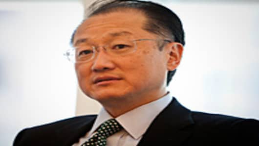 Jim Yong Kim, new president of the World Bank.