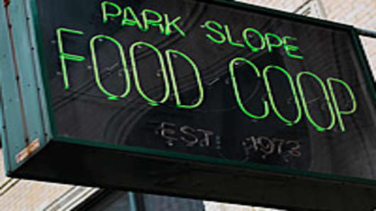 The Park Slope Food Coop in the Brooklyn borough of New York City.
