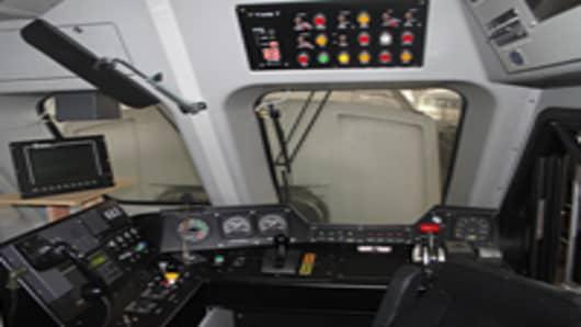 PTC equipment installed on a new Metrolink cab car
