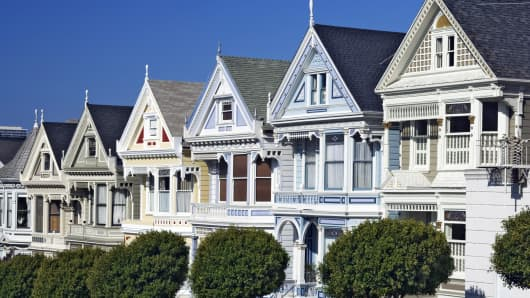 San Francisco Real Estate row houses