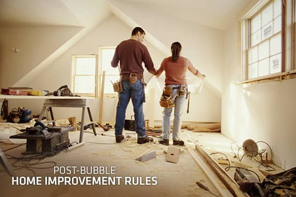 Home Improvement Remodeling Brilliant Postbubble Home Improvement Rules Design Ideas