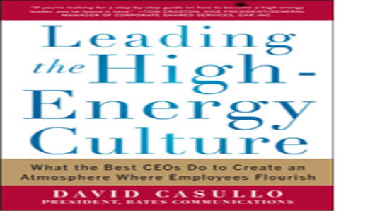 Leading the High Energy Culture Atmosphere