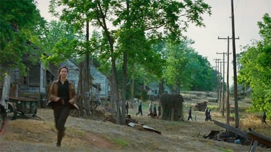 Henry River Mills Hunger Games Movie North Carolina