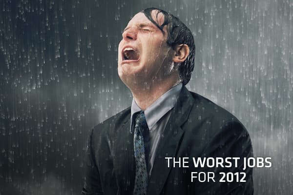 The job market is making a clunky recovery and there are some bright spots, as was evident in the Best Jobs of 2012 list from But with the good comes the bad, hence the 10 Worst Jobs for 2012. CareerCast evaluates 200 professions to come up with the best and worst lists, adding and subtracting a few jobs from the 200 list each year in keeping with the times. So what makes a job one of the worst? High stress, high physical demands and a tough or dangerous work environment, according to CareerCast