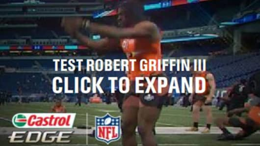 Robert Griffin III Castrol Endorsement