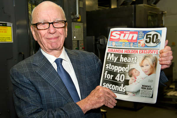 Total calculated compensation: $33.2 million 2011 stock performance: +22.5% Change in revenue from 2010: +1.9% Change in net income from 2010: +7.9% Murdoch's annus horribilis in the courts, Parliament and the press didn't dent his compensation or the company's overall performance, compared to 2010. News Corp. registered a 7.9% rise in profits over last year, earning Murdoch a baronial 46.5% raise in compensation, with a $12.5 million bonus to go with his $8.1 million salary alongside $8.5 milli