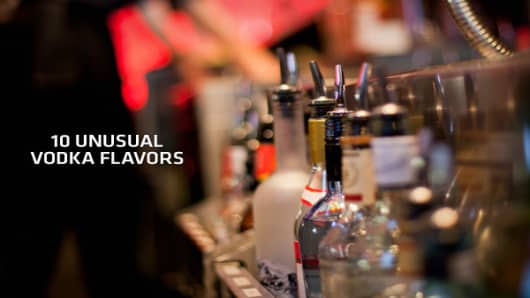 Stir in one part candy store, one part alcohol and a splash of cocktail risk taking. For many vodka producers, this is a recipe for success as they seek to capture the American consumer and draw attention to their brand through creative new flavors. Flavored vodka accounts for approximately 27 percent of leading brand vodka volume and continues to grow in popularity as total vodka sales also increase, according to market research firm Technomic. In 2011, David Ozgo, senior vice president of econ