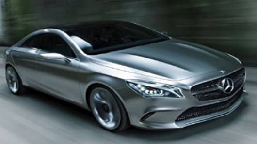 Mercedes-Benz new Concept Style Coupe.