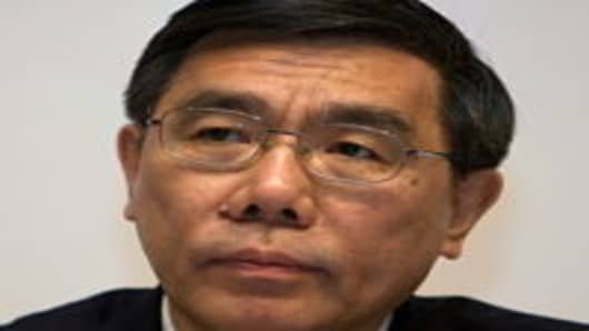 Jiang Jianqing, Chairman of Industrial and Commercial Bank of China