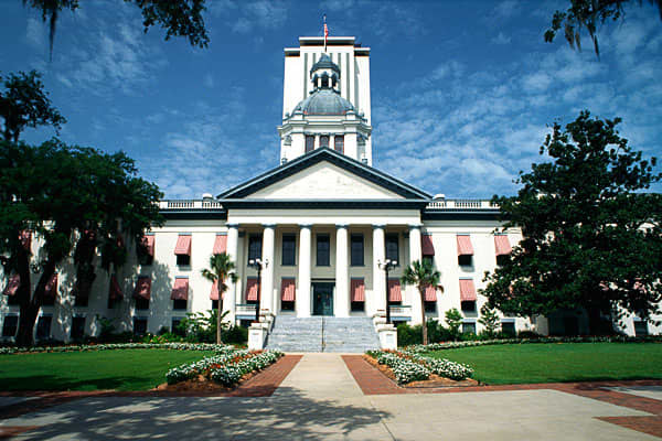 Florida is a popular destination for retirees, and not just because of the sunshine. Residents don't pay any personal income tax, the sales tax rate is  and the gasoline tax is  per gallon.The state's high property taxes stop it from ranking higher on the list. The rate is 1.09 percent of the median home value, according to Vincent Bates, lead tax research analyst for H&R Block's Tax Institute.