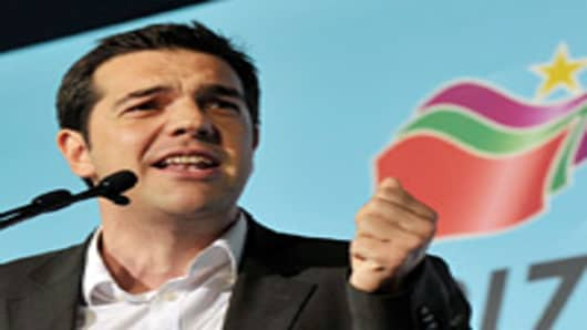 Left Coalition Party Leader, Alexis Tsipras