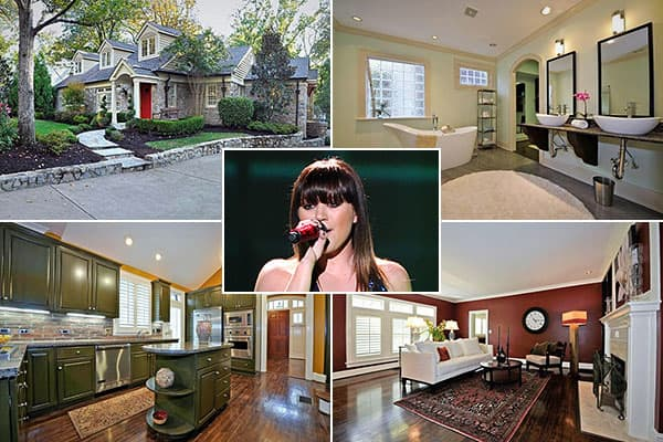 """Location: NashvillePrice: $1.449 millionBedrooms: 5Bathrooms: 6Square footage: 4,900Kelly Clarkson won the first season of """"American Idol"""" at age 20, subsequently released five albums, won a pair of Grammys, and is rated  out of Billboard's top 24."""