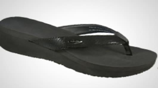 Bandals sandals have interchangable bands.