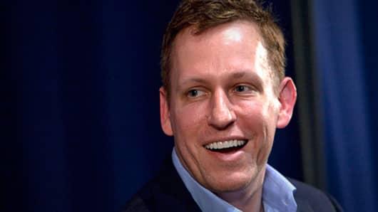 Peter Thiel, Facebook IPO