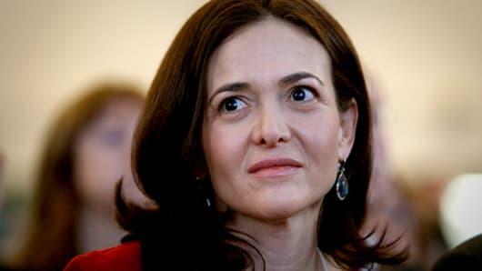 Sheryl Sandberg, Facebook IPO