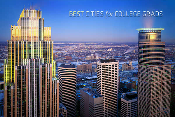 It's a little more quiet than usual on the Internet this time of year because college students are studying for finals. That means a new crop of graduates is about to flood not just the job market, but the rental market. So where will the new grads move? Rent.com compiled this list of the best cities for college graduates based on unemployment rates, mean annual income, cost of living and rental inventory for the metropolitan areas. The unemployment data was taken from the March 2012 rankings, a