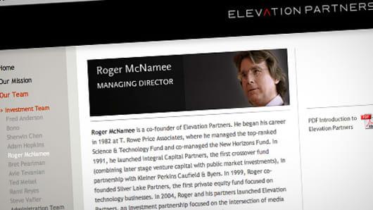 Roger McNamee, Facebook IPO