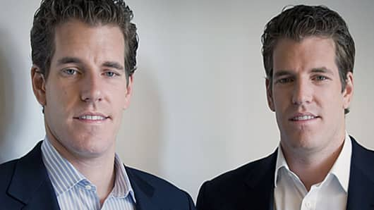 Cameron and Tyler Winklevoss, Facebook IPO
