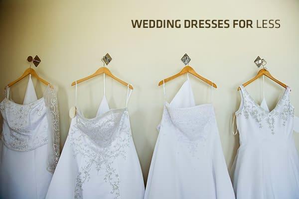Designer Wedding Dresses for Less