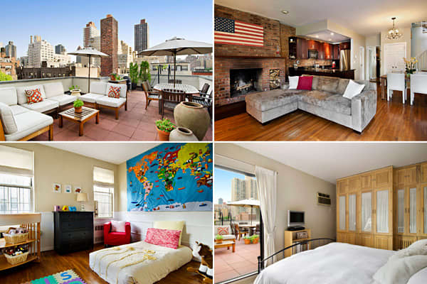 "Listing price: $999,999 Bedrooms: 2 Bathrooms: 1 full, 1 half Size of home: N/A ""The real estate market in Manhattan is much more vigorous than it was a year ago,"" says Kelly Robinson of Town Real Estate, ""A lot of people feel like they missed the bottom of the market, and it has created a sense of urgency."" According to Robinson, sale prices in the luxury market rose by 8.7 percent per square foot, with the average sales price of homes in Manhattan standing just under $5.6 million in the first"