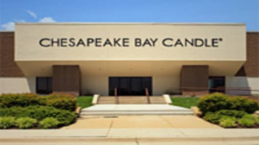 Chesapeake Bay Candle's U.S. factory in Glen Burnie, Maryland.