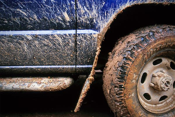 "In Minnetonka, Minn., it is considered a public nuisance, and therefore illegal for ""a truck or other vehicle whose wheels or tires deposit mud, dirt, sticky substances, litter or other material on any street or highway."" All violations of the Minnetonka code are subject to fines up to $2,000 but a spokesperson for the city said the city ""attempts several other measures to mitigate the situation before pursuing misdemeanor charges."""