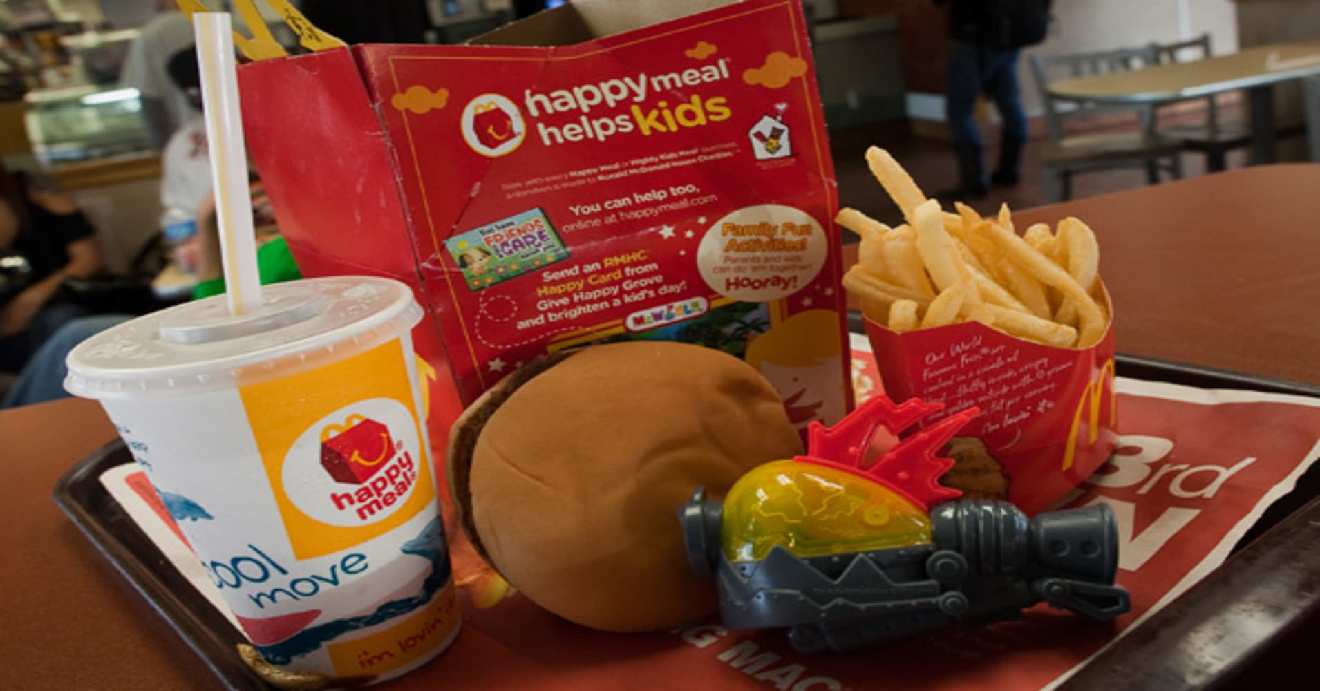 McDonalds cuts Happy Meal from 1 2 3 menu recommendations