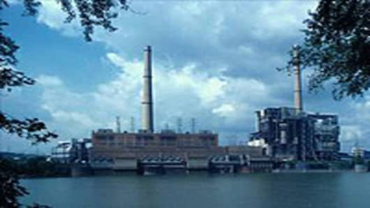 AEP's Philip Sporn coal-fired power plant in West Virginia. It was partially retired in 2011 and is slated to be entirely mothballed by 2016.