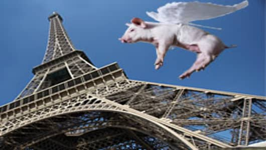 Pig over Paris