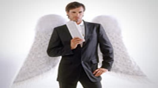 Man in Angel Wings