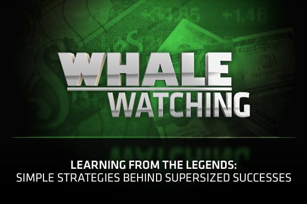 "If you're serious about investing, chances are you've followed a Wall Street whale or two. That's Street slang for monitoring the buys and sells made by billionaire investors (aka Wall Street Whales) as they disclose quarterly 13F filings.But in addition to tracking stocks or sectors, pro trader Stephen Weiss believes that there's also something worthwhile to learn from tracking themes and big picture ideas that made these pros, the whales that they are today.For his new book, ""The Big Win"" Weis"