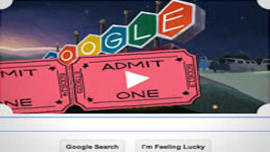 Google Drive-In Doodle