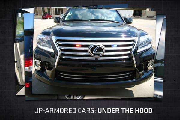 up armored cars under the hood. Black Bedroom Furniture Sets. Home Design Ideas