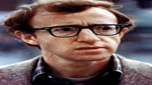 Woody Allen as Alvy Singer in Annie Hall