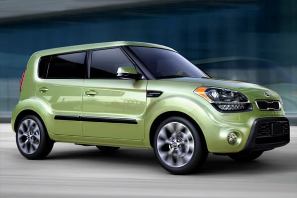 """The Kia Soul is a compact car that debuted at the 2008 Paris Motor Show. For the 2012 model, the car received an upgraded exterior, navigation and automatic climate control.The Honda Fit is TotalCarScore.com's top-rated economy car, but the Soul runs a strong second. """"This puts the Soul ahead of several well-known economy nameplates, including the Nissan Cube and Toyota Yaris,"""" Brauer said."""