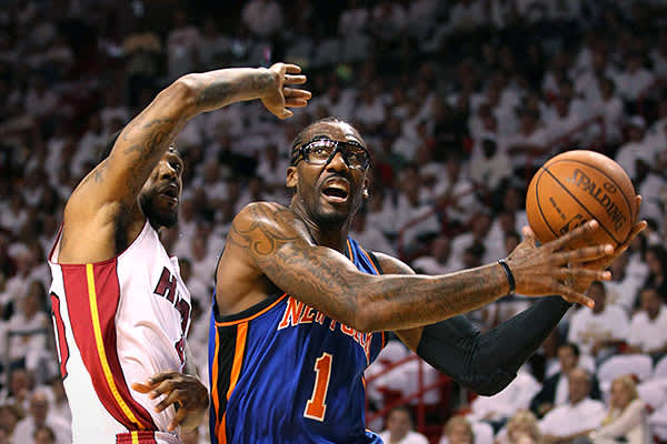 "Team: New York KnicksMinutes Played: 1,543Wins Produced: 1.7Value of Wins: $3,299,396Salary: $18,217,705Overpaid: $14,918,309Amar'e Stoudemire's professional career began in 2002 with the Phoenix Suns. During his eight years with the team, he suffered from a knee injury and a detached retina, then after joining the Knicks in 2010, he suffered injuries to his back and his hand.According to Berri, all that damage adds up, and it's had a negative impact on Stoudemire's performance. ""His shooting ef"