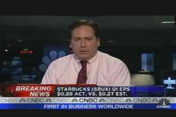SBUX Earnings