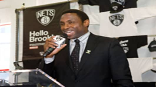 Brooklyn Nets head coach, Avery Johnson