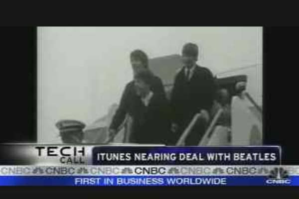 iTunes Nears Deal with Beatles