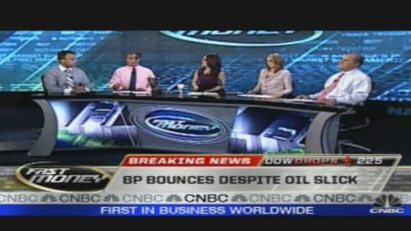 BP Rises Even As Oil Gushes