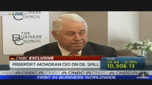 Freeport McMoRan CEO on Copper & Gold Prices