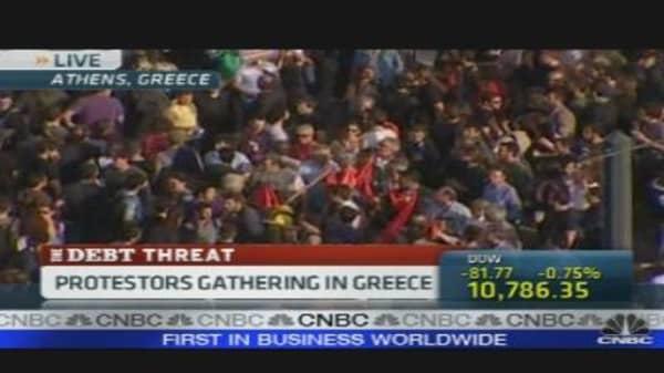 Greece Debt Threat