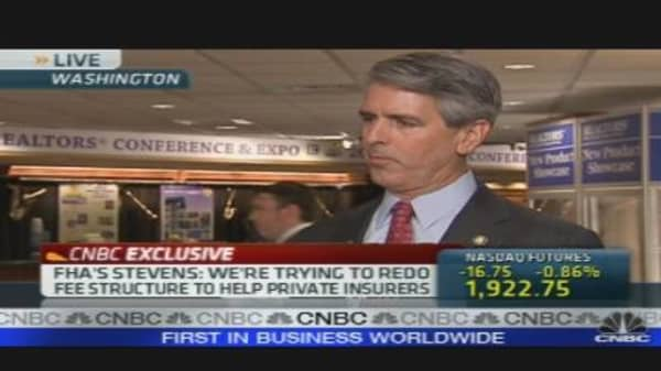 CNBC Exclusive: FHA Commissioner