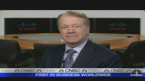 Cisco CEO: More Optimistic Now on Outlook