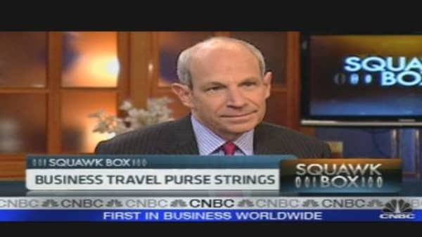Business Travel Purse Strings Loosening
